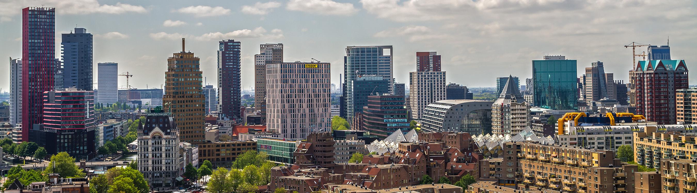 Rotterdam Skyline HLS